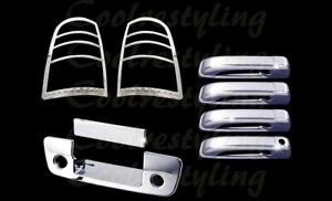 Dodge Ram 1500 2500 2011 16 2017 Chrome Door Handle Tail Lights Tailgate Covers