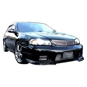 For Chevy Impala 00 05 Skyline Style Fiberglass Front Bumper Cover Unpainted