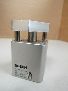 New Bosch Air Pnuematic Cylinder 0 822 010 721 0822010721 10mm Stroke 20mm Bore