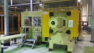 Two 2 2004 Husky Injection Molding Machines W In mold Labeling Systems For Mar