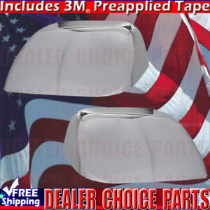 2008 2009 2010 2011 2012 Ford Escape Chrome Mirror Covers 3 4 Overlays