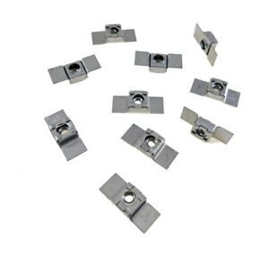 10 Pack 5 16 18 Floating Cage Nut Weldable Stamping Nr 51618