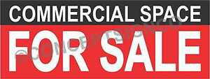 3 x8 Commercial Space For Sale Banner Outdoor Sign Large Real Estate Property