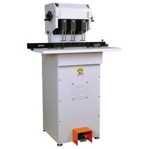 Lassco Spinnit Fmmh 3 1 Fully Automatic Hydraulic Three Spindle Paper Drill