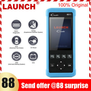 Launch Auto Scanner Cr8011 Car Diagnostic Abs Srs Oil Epb Srs Obd2 Code Reader