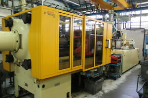 2004 Husky Hyletric H300 Rs80 70 Injection Molding Machine