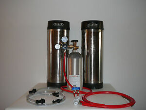 Homebrew Two Tap Basic Kit With Pin Lock Corny Kegs