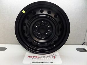 Toyota Camry 2007 2011 16 Black Steel Wheel Genuine Oem Oe