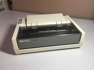 Hp 2225a Thinkjet Vintage Metrology Hpib Printer With Ink Cartridges