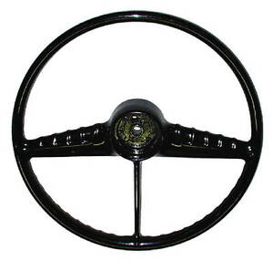 1954 Chevy Truck Black Steering Wheel Superior Quality