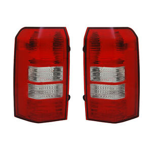 New Tail Light Pair Fits Jeep Patriot 2008 2009 2010 2011 Ch2801181 Ch2800181