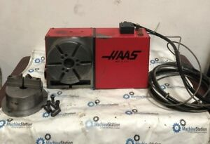 Haas Hrt 210 Cnc Rotary 4 Axis Table 17 Pin Fits Haas Vf0 1 2 3 4 5 6 Mini Mill
