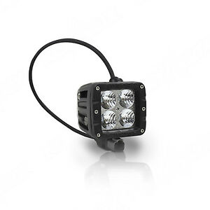 Aurora 2 Inch Led Working Light Bar cube Off Road Flood 40w 3200 Lumens