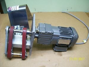 Sew eurodrive Gear Motor Reducer 3 Phase 33hp Rf17drs71s4 dh