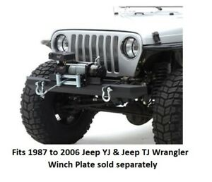 Jeep Front Bumper For 87 06 Jeep Wrangler Src Classic Series