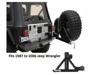 Jeep Rear Swing Away Tire Carrier For 87 06 Jeep Wrangler Xrc Series