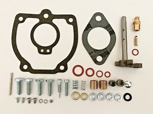 Ih Farmall 656 706 756 766 806 856 Tractor Carburetor Repair Kit W Shaft