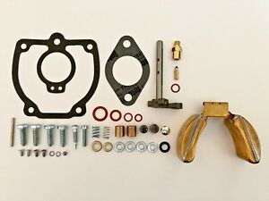 Ih Farmall 656 706 756 766 806 856 Tractor Carburetor Kit W Shaft Float