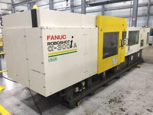 2003 Fanuc Roboshot A 300ia Injection Molding Machine