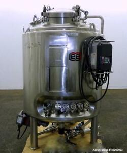 Used Lee Industries Reactor 500 Liter 132 08 Gallon Model 500lu 316l Stain