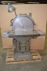 Kindt Collins Master Disk Sander Model R 24 Inch SN 5410 3 PH 220440 V