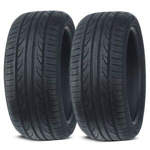 2 New Lexani Lxuhp 207 225 40zr18 92w Xl All Season Performance Tires