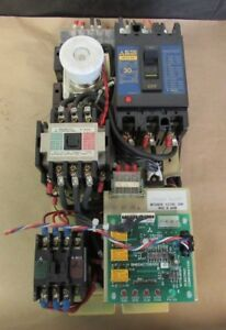 Mitsubishi Power Supply Adu40a B4197 Tr115a S k20 S k11 Breaker Nf30 ss 30amp