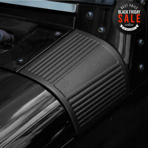 Durable Abs Cowl Body Armor For 2007 2017 Jeep Jk Wrangler Unlimited Black Yh