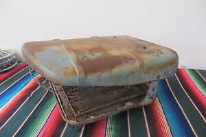 Vintage 1940 s 1950 s Chevy Gmc Panel Suburban Truck Bucket Seat One Only