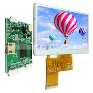 4 3 Inch Tft Lcd Display W small Hdmi Driving controller Board For Raspberry Pi