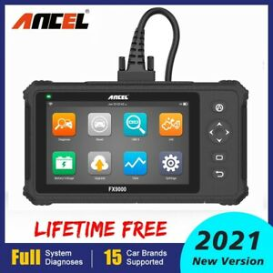 Launch Obdii Code Reader Auto Car Abs Srs Reset Engine Check Diagnostic Scanner