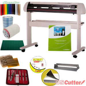 34 Vinyl Cutter Bundle Sign Cutting Plotter W vinylmaster Cut Design Cut