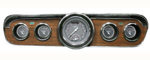 Classic Instruments 1965 1966 Mustang Package Sg Series Gauges Cluster Tach