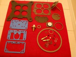 Holley 4180 Series Carb Rebuild Kit For 600 Cfm Vs