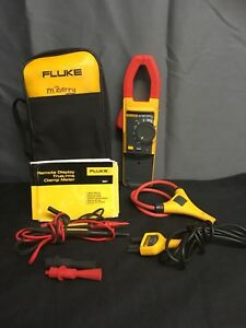 Fluke 381 Remote Display True Rms Clamp Meter W Iflex Missing Attachment