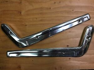 1967 1968 Ford Mustang Used Fomoco Bucket Seat Side Trims 2 Pcs R l