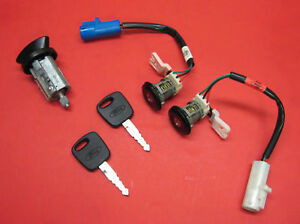 Ford Ignition Lock Cylinder Key Switch Door Lock Set 2 Keys