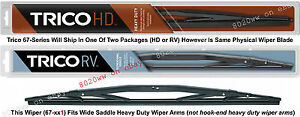 Open Package Trico Hd 32 Qty One Wiper Wide Saddle Read Listing 67 321 Open
