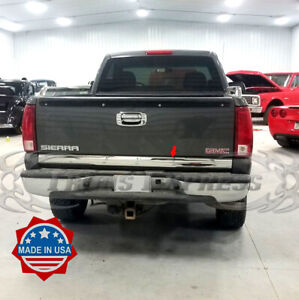 1999 2006 Chevy Silverado Sierra Tailgate Molding Trim Accent Protector 3 Lower