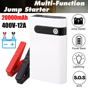 Car Portable Car Jump Starter Booster Jumper Box Power Bank Battery Charger 12v