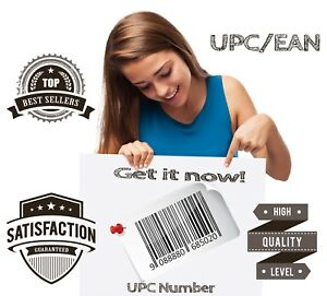 50000 Pieces Upc Ean For Amazon Numbers Barcodes Us Uk Eu Approved Guarantee