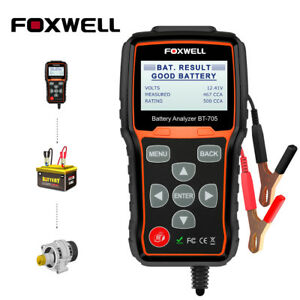 12v 24v Automotive Car Battery Tester Charging System Analyzer 2000cca Bt705 Us