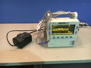 Welch Allyn Propaq Encore 206el Patient Monitor W Spo2 Probe Bp Hose