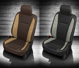 2017 2018 Ford F 250 Xlt Super Crew Katzkin Leather Seat New Limited Customs