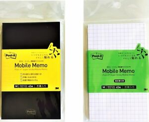 Post it Super Sticky Mobile Memo 45 Pages Refill Japan Import