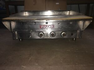Vulcan 36 Gas Griddle Grill Commercial