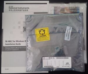 National Instruments Pci gpib Ni 488 2 Card For Win P n 777158 01 new In Box
