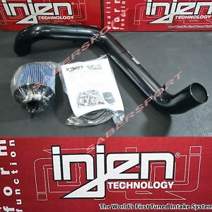 Injen Rd Series 3 Black Cold Air Intake Kit For 1997 2001 Integra Type r