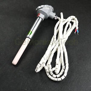 New 2 6m 8 5ft K 1300 2372 Ceramic Controller Thermocouple Sensor Termin Head
