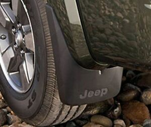2008 2009 2010 2011 2012 Jeep Liberty Front Molded Splash Guards Mud Flaps